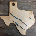 Maple Serving Board with Turquoise Inlay thumbnail