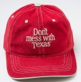 DMWT Contrast Stitched Cap - Dark Red thumbnail