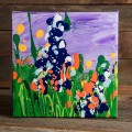 6x6 Wildflower Painting - Lavender thumbnail