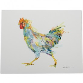 Chicken Watercolor Print