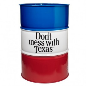 Don't mess with Texas Barrel