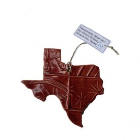 Ceramic Texas Ornament
