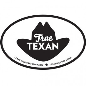 Cowboy Hat True Texan Sticker
