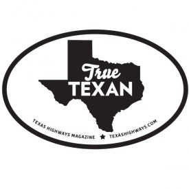 True Texan Sticker