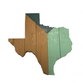 TH Exclusive: Reclaimed Texas Wall Hanging, #17