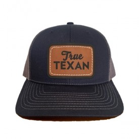 True Texan Leather Cap