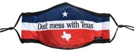 Don't mess with Texas Cloth Face Mask