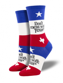 Women's Don't mess with Texas Sock