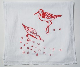 Sandpiper Tea Towel