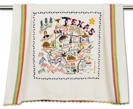 Texas Geo Dish Towel