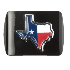 State of Texas w/Flag Hitch Receiver Cover