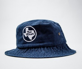 Navy True Texan Bucket Cap