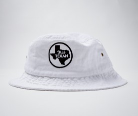 White True Texan Bucket Cap