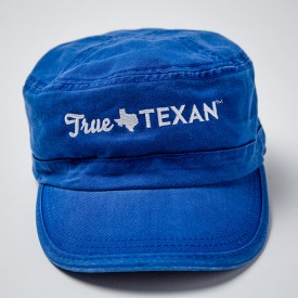 True Texan Patrol Cap in Royal Blue