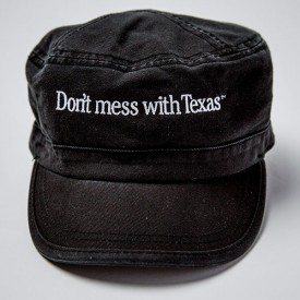 Don't mess with Texas Patrol Cap in Black
