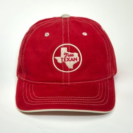 True Texan Contrast Stitched Cap