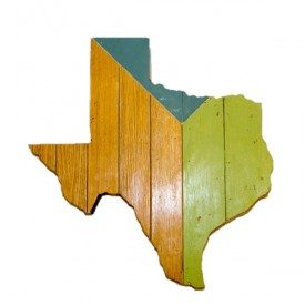 TH Exclusive: Reclaimed Texas Wall Hangings
