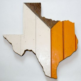 Reclaimed Texas Wall Hanging, #40