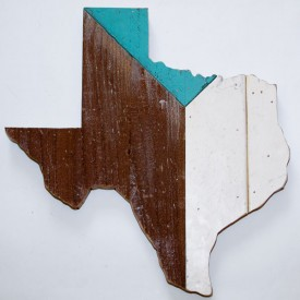 Reclaimed Texas Wall Hanging, #41