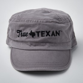 True Texan Patrol Cap in Storm Gray