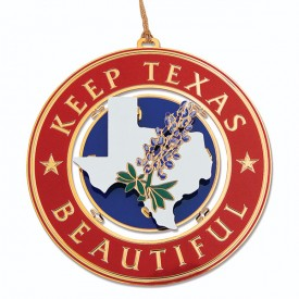 Keep Texas Beautiful Ornament, 1st Edition, 2004
