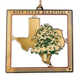 Keep Texas Beautiful Ornament, 2nd Edition, 2005