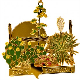 Keep Texas Beautiful Ornament, 5th edition, 2008