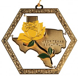 Keep Texas Beautiful Ornament, 8th Edition, 2011