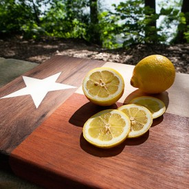 Texas Flag Cutting Board