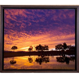 Texas Sunset, Framed Photograph