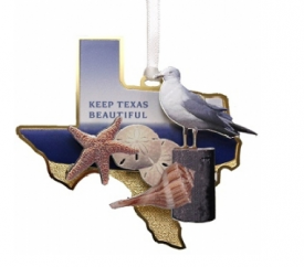 Keep Texas Beautiful Ornament 12th Edition, 2015