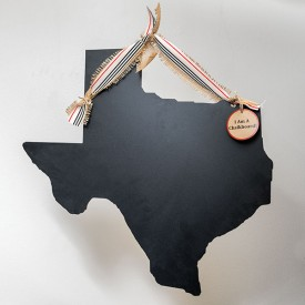 Large Texas Chalkboard