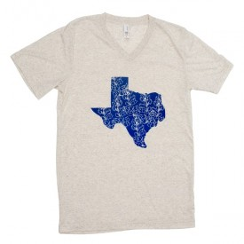 Bluebonnets over Texas T-Shirt