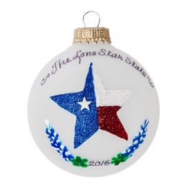 2016 Lone Star Ornament