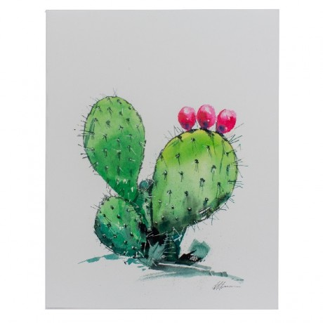 Prickly Pear Watercolor Print