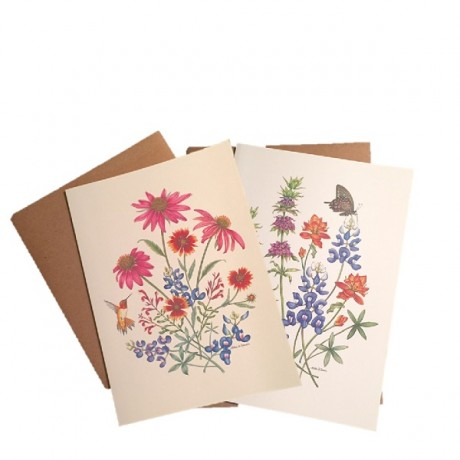 Texas Wildflowers Notecards