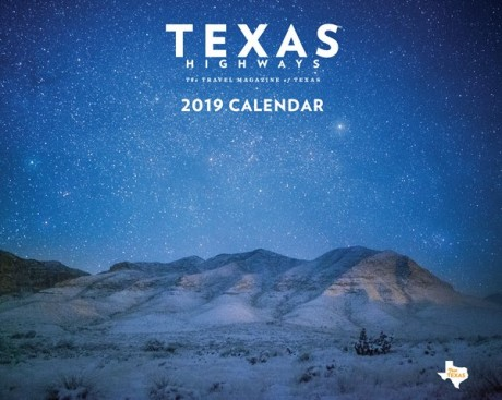 2019 <em> Texas Highways </em> Wall Calendar