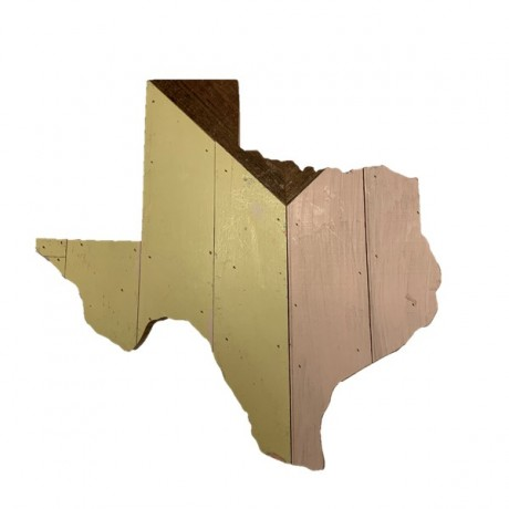 TH Exclusive: Reclaimed Texas Wall Hanging, #24