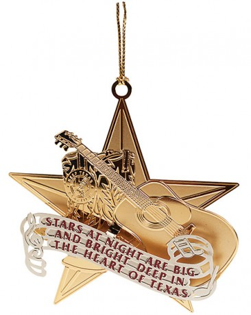 Keep Texas Beautiful Ornament, 9th Edition, 2012