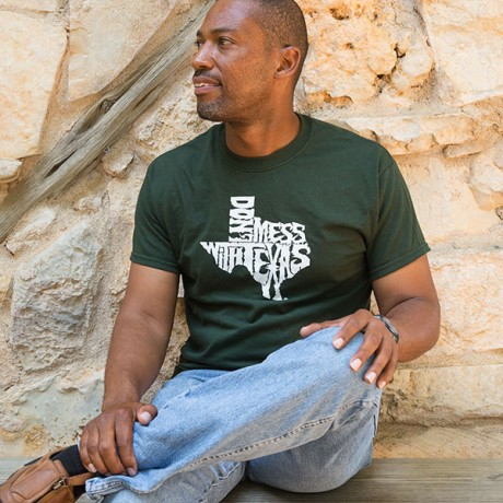 Forest Green Don't mess with Texas Shirt