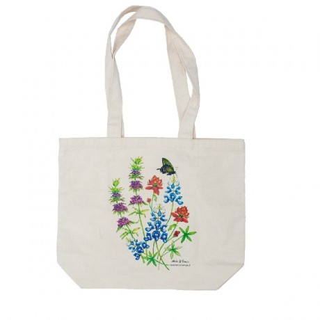 Texas Wildflowers Tote Bags