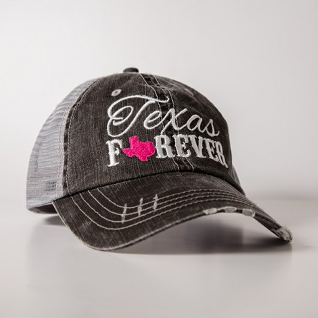 Texas Forever Trucker Hat Texas Highways Mercantile