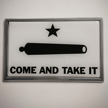 Come and Take It METAL Auto Emblem