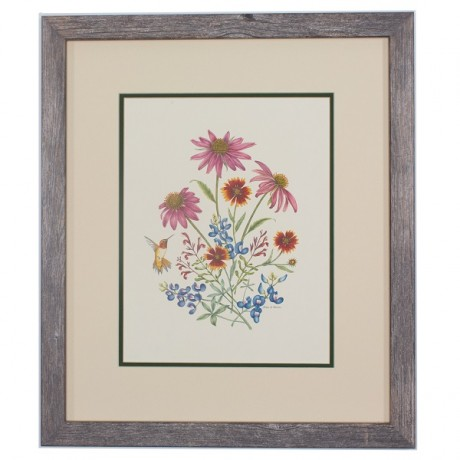 TX Wildflowers Framed Prints - Texas Highways Gift Shop