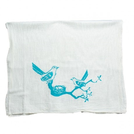 Mockingbird Tea Towel